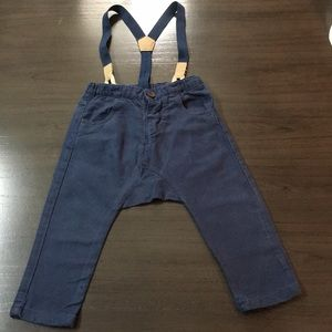 Zara Bottoms - Zara Baby boy Pants with suspenders